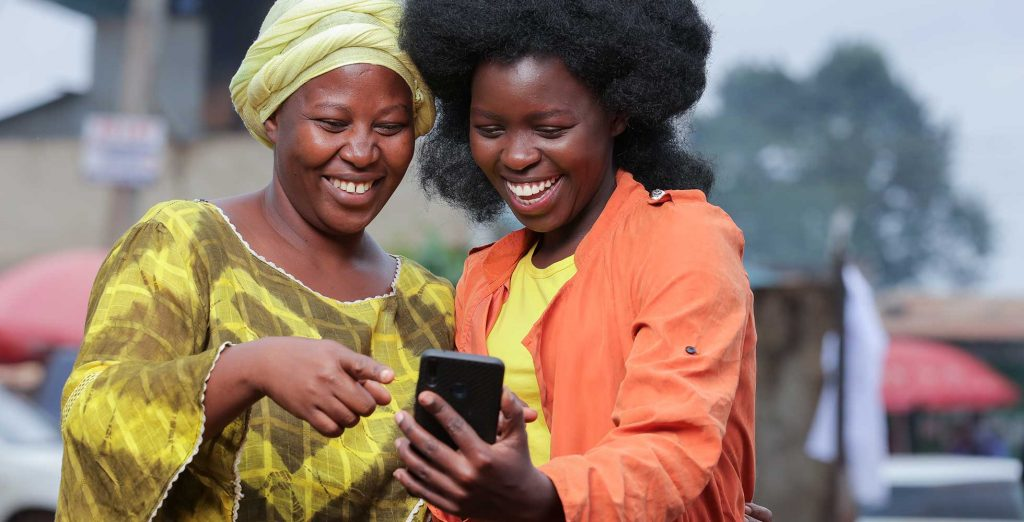 Copia customer using mobile commerce