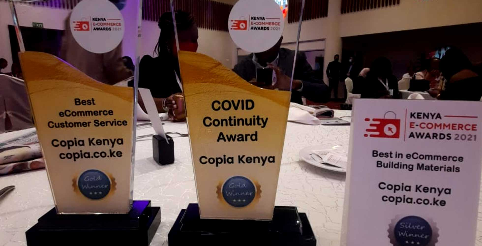 You are currently viewing Copia wins three awards at the Kenya E-commerce awards